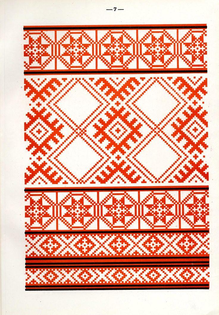 https://flic.kr/p/fQaPWi | Белорусский народный орнамент - 1953_55 | Belarusian ethnic embroidery