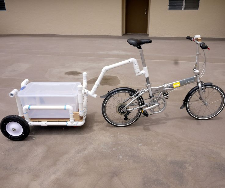 The idea for this bike trailer/shopping cart was due to a new grocery store opening near my home. The problem I had was, it was a little too close to drive to, but too far to walk. If I had something for my bicycle, that'd be the perfect transportation. As you look at PHOTO 1, the amassment of PVC joints and pipes is a lot, but if you break it down into steps, it can be an easy build.