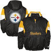 I like this one also  Starter Pittsburgh Steelers Breakaway Quarter Zip Jacket - Black