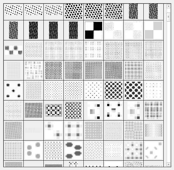 Pattern's screen tones for manga drawings – Monstee Rose
