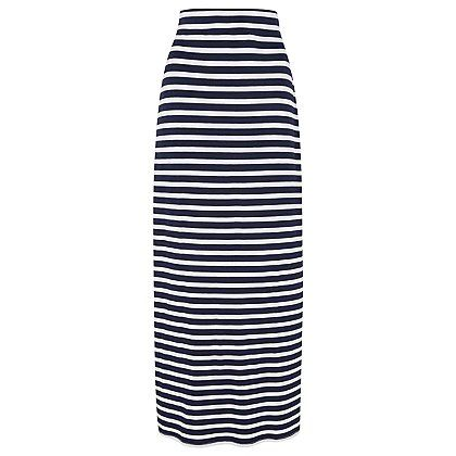 2ffaa6e4f Striped Jersey Maxi Skirt | Women | George | 50+ fashion | Jersey ...