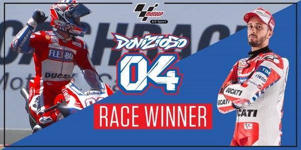 Manajer Tim Ducati Corse, Davide Tardozzi menyatakan ridernya, Andrea Dovizioso kini layak dijuluki 'Profesor' berkat kemenangan besarnya di Sirkuit Red Bull Ring, Austria akhir pekan lalu. Menurut Tardozzi, performa berani Dovizioso dalam melawan rider Repsol Honda, Marc Marquez hingga tikungan terakhir patut diacungi jempol.