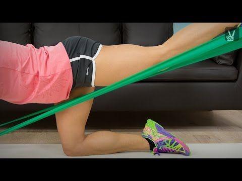 Fitness mit dem Thera-Band: Workout mit Corinna Frey! - YouTube