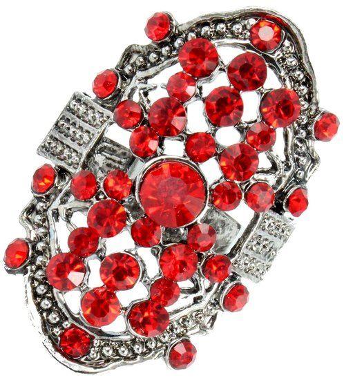 https://www.goedkopesieraden.net/Zilveren-luxe-ring-met-rode-strass-stenen