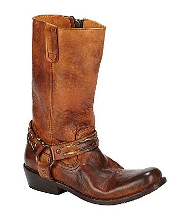 $123.37 @ DILLARDS Bed Stu Cobbler Stare WesternInspired Riding Boots-- OMG I LOVE THESE BOOTS