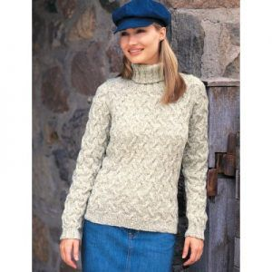 Patons Shadow Cables Pullover Free Knitting Pattern