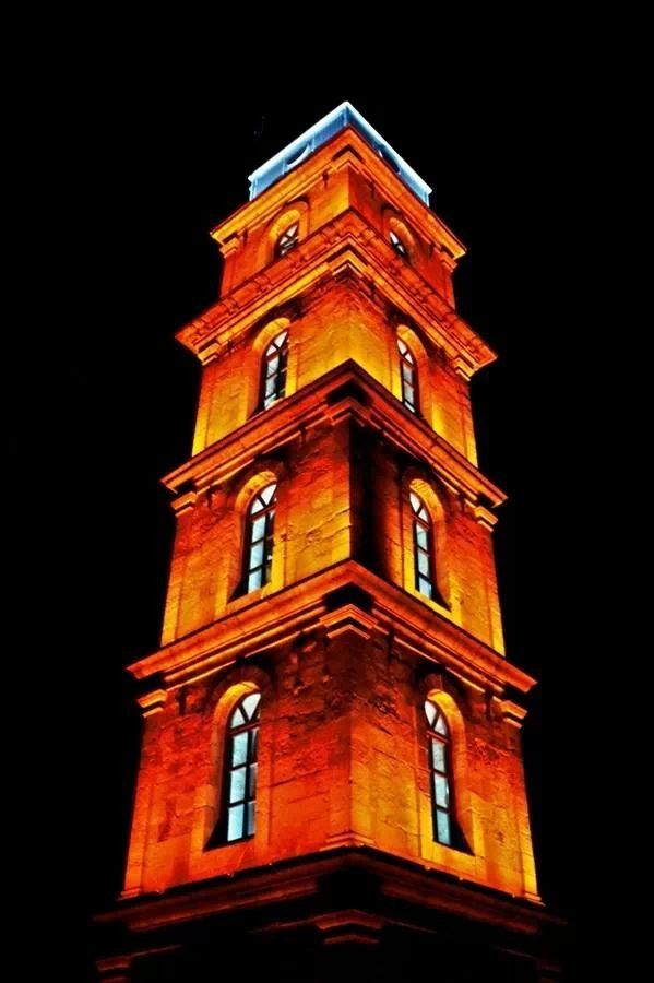 Tophane Clock Tower in Bursa