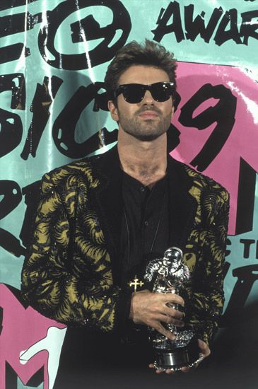 George at the 1989 MTV Video Music Awards