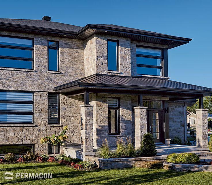 revetement devant maison top grande maison de luxe avec. Black Bedroom Furniture Sets. Home Design Ideas