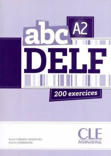 ABC A2 DELF, 200 EXERCICES. DELFA2. It offers a course to maximize the chances of success at the test: Presentation and explanation of each part; 200 activities such DELF (50 per competency); Mock tests DELF B1, to place themselves under review; Reminder of grammar points and vocabulary (essential for this level). Ref. number(s): FRE-268 (book) - FRE-066 (audio).