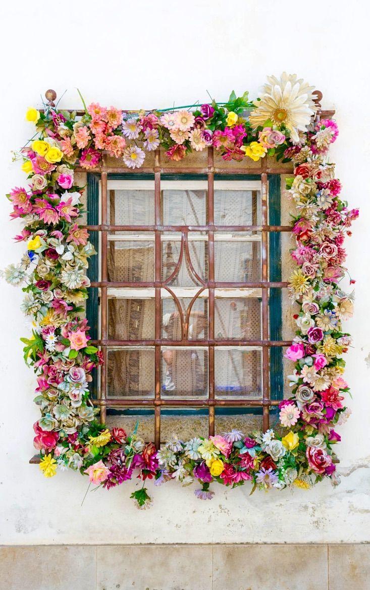 Gorgeous Flower Window -Obidos, Portugal <3
