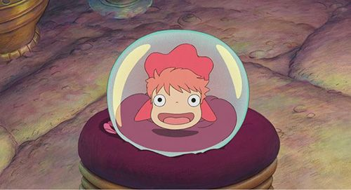 Critique du DVD Ponyo Sur la Falaise - Anime Dvd - ( Ghibli ) 崖の ...