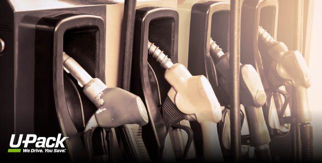 determine average gas mileage of a Budget rental truck