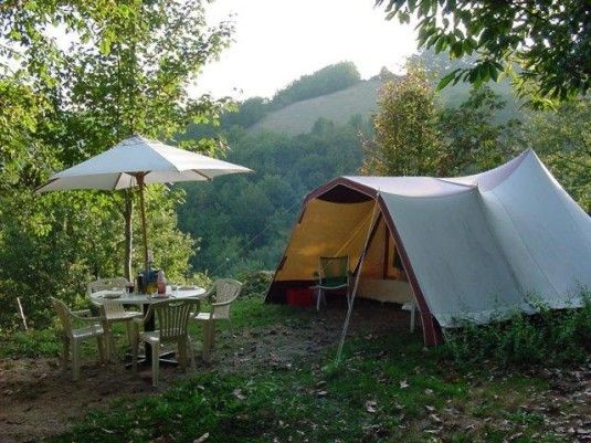 Camping Albugue, natuurcamping in de Pyreneeen
