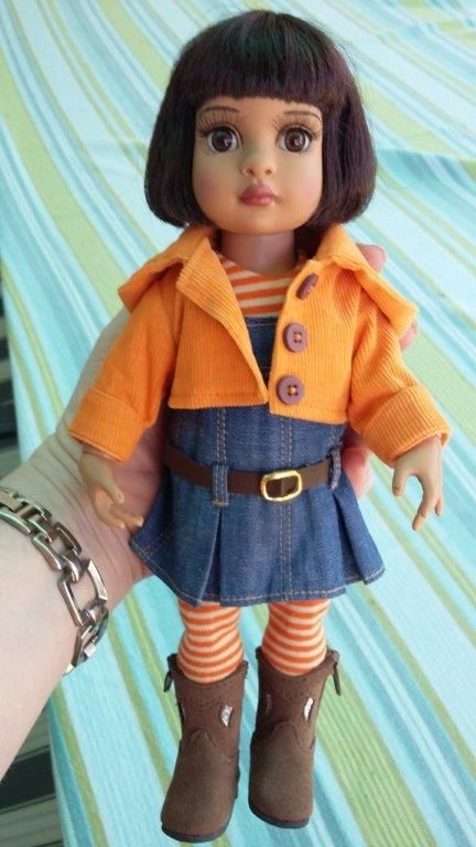 """Little 10"""" Tonner Patsy. Her name is Josie."""