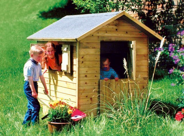 Casetta bambini legno per giardino