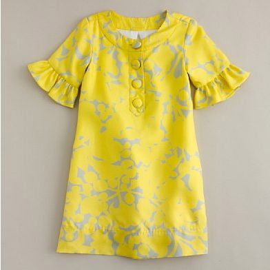 yellow and gray flower girl dress - Google Search