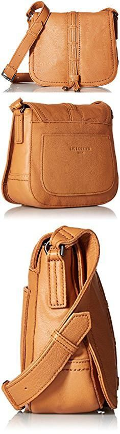 Liebeskind Bags. Liebeskind Berlin Women's Huntsville Leather Saddle Bag, Cognac.  #liebeskind #bags #liebeskindbags