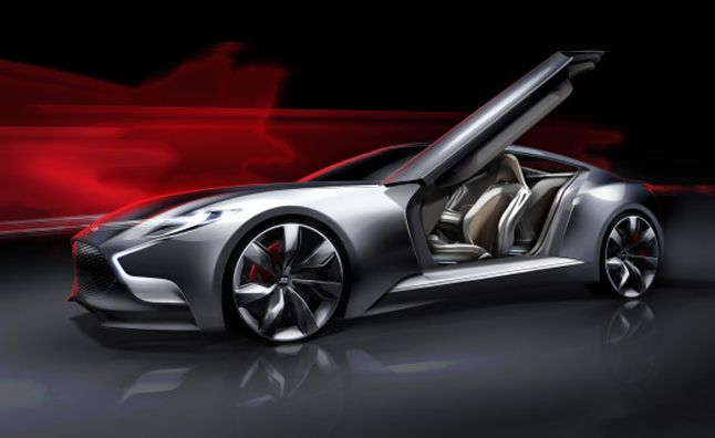 2015 Hyundai Genesis Coupe Previewed in HND-9 Concept With V6 Turbo. For more, click http://www.autoguide.com/auto-news/2013/03/2015-hyundai-genesis-coupe-previewed-in-hnd-9-concept-with-v6-turbo.html