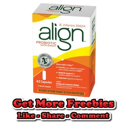 Reminder: Free Sample of Align Probiotic Supplement - http://getfreesampleswithoutsurveys.com/reminder-free-sample-of-align-probiotic-supplement
