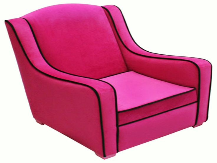Fuschia Accent Chair, Shout The Corner Of The Room!