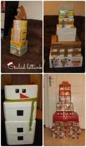 olcsó, egyszerű, karácsonyi dekoráció