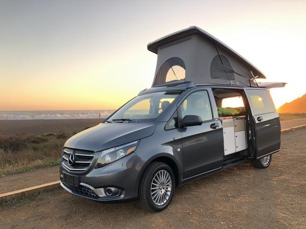 Terracamper Metris Poptop Campervan Van For Sale Sprinter