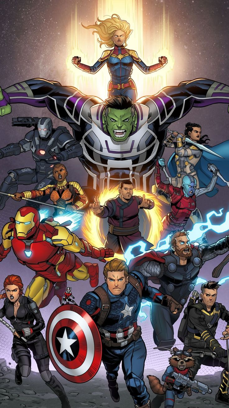 Beautiful Avengers Movie iPhone Wallpaper Marvel