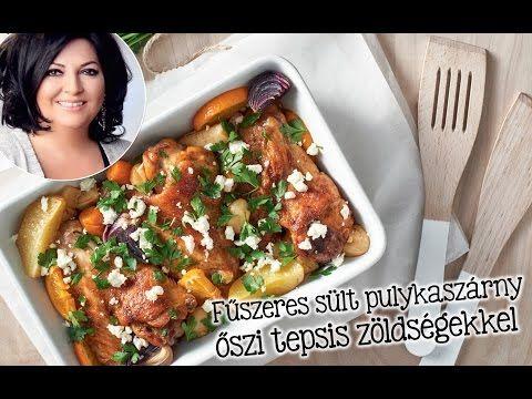 Mautner Zsófi receptje – Fűszeres sült pulykaszárny őszi tepsis zöldségekkel - YouTube