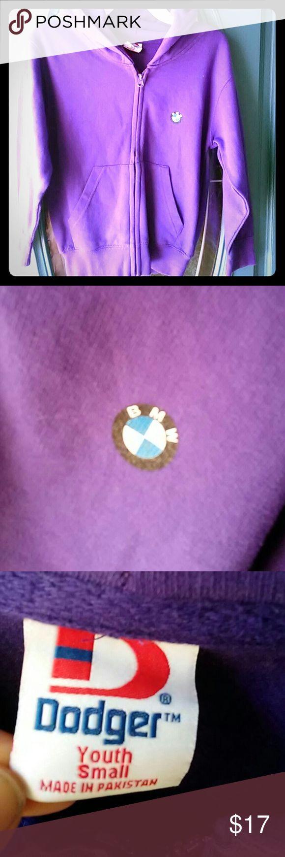 Bmw hoddie size girls small 8/10 Purple hoddie with bmw symbol purchased from bmw zentrum greer sc dodger Jackets & Coats