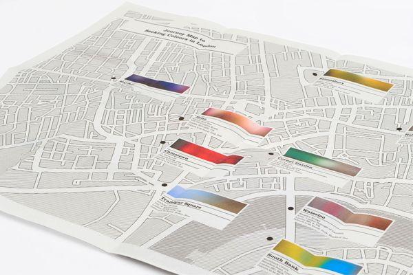 London: Seeking Colour by Yi Xiang Lim, via Behance