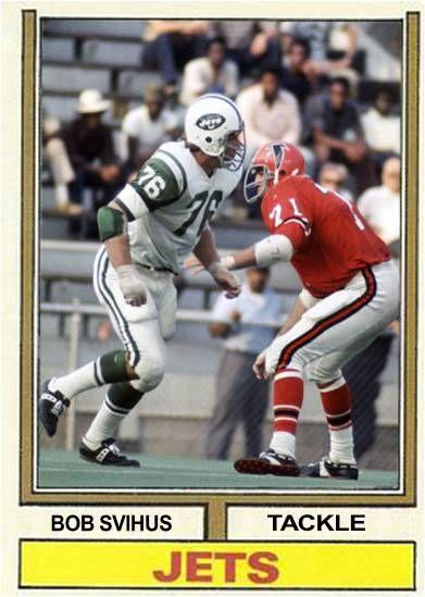 Bob Svihus New York Jets