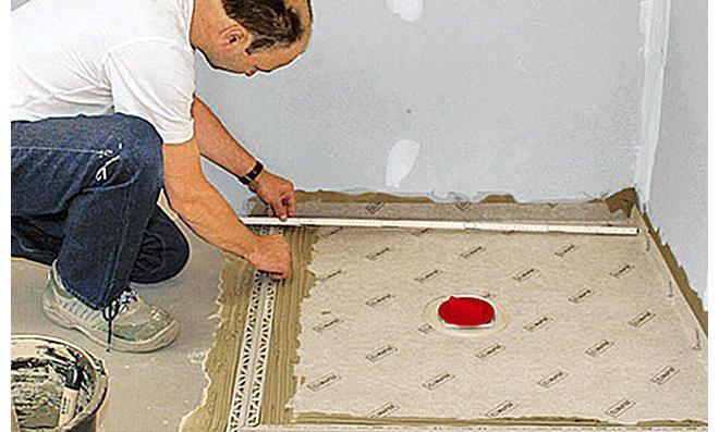 Bodengleiche Dusche Selber Bauen Mit Bildern Bodengleiche