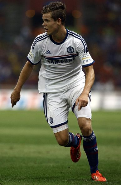 Marco Van Ginkel of Chelsea runs during the match between Chelsea and Malaysia XI on July 21, 2013 at the Shah Alam Stadium in Shah Alam, Kuala Lumpur, Malaysia.