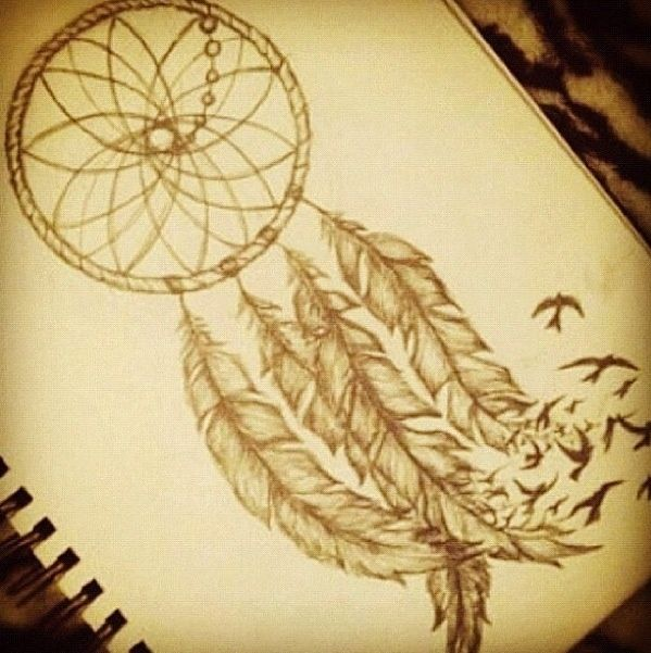 pretty dreamcatchers drawing dreamcatcher drawings tumblr on picterest arts and crafts pinterest. Black Bedroom Furniture Sets. Home Design Ideas