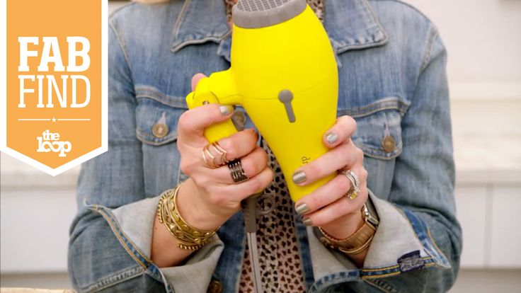There's finally a travel blow dryer that'll get the job done