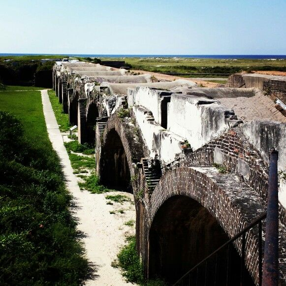 Fort Pickens, Pensacola, Florida- I highly recommend paying the minimal fee to get in.  This was the best thing I experienced in Pensacola.  Plus we found a very secluded beach and highly enjoyed the privacy!