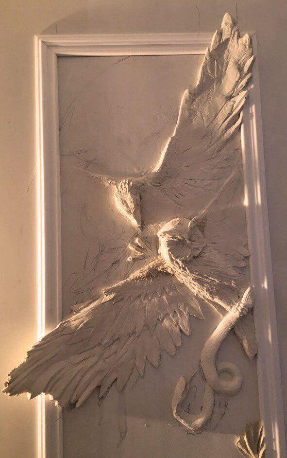 13 best plaster art images on pinterest plaster plaster for Plaster wall art