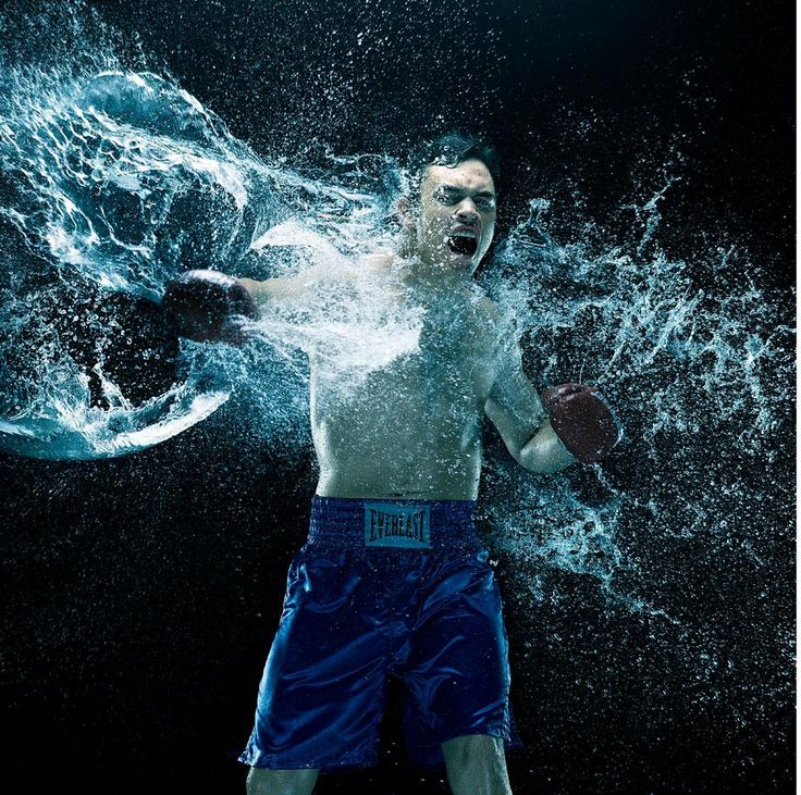 At the Fights: photo book of professional boxing both in his studio and in the ring (PHOTOS). Howard Schatz, howardschatz.com