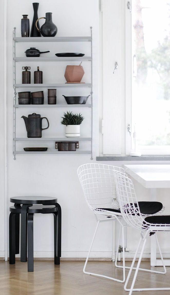 1000 bilder zu string regal auf pinterest sweet home. Black Bedroom Furniture Sets. Home Design Ideas