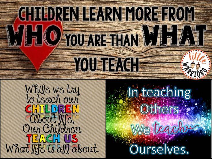 What Is A Teacher, Really?!? - Little Warriors