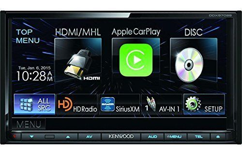 Kenwood Audio Car DDX9702S Quality Srereo 6.95Inch Wide LCDTouch Bluetooth Radio