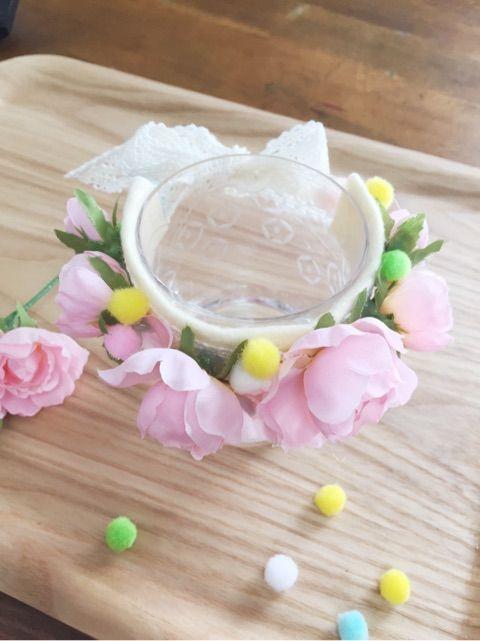 100均のフェルトやレースで作る花冠!可愛いお花を付けてお姫様気分 ... お好みでボンボンを貼りましょう