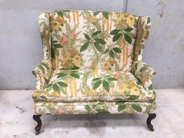Victorian Wingback Sofa | e l l a g u r u