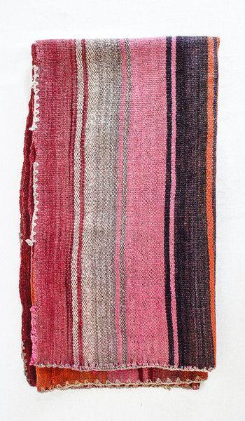 Vintage Andean Blanket/Rug #2