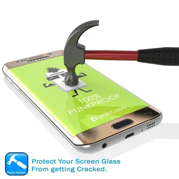 Galaxy S7 Edge Gold Screen Protector, Punkcase Glass SHIELD Samsung Galaxy S7 Edge Tempered Glass Screen Protector 0.33mm Thick 9H Glass  Punkcase Glass SHIELD is build with the highest quality tempered glass to obtain the best HD clear visibility. Punkcase Glass SHIELD covers the whole screen unlike other screen protectors from competitors. It also has 2.5D rounded edges, 0.33mm thick and has 9H hardness for superior protection. Punkcase designed the Glass SHIELD with an oleophobic coating…