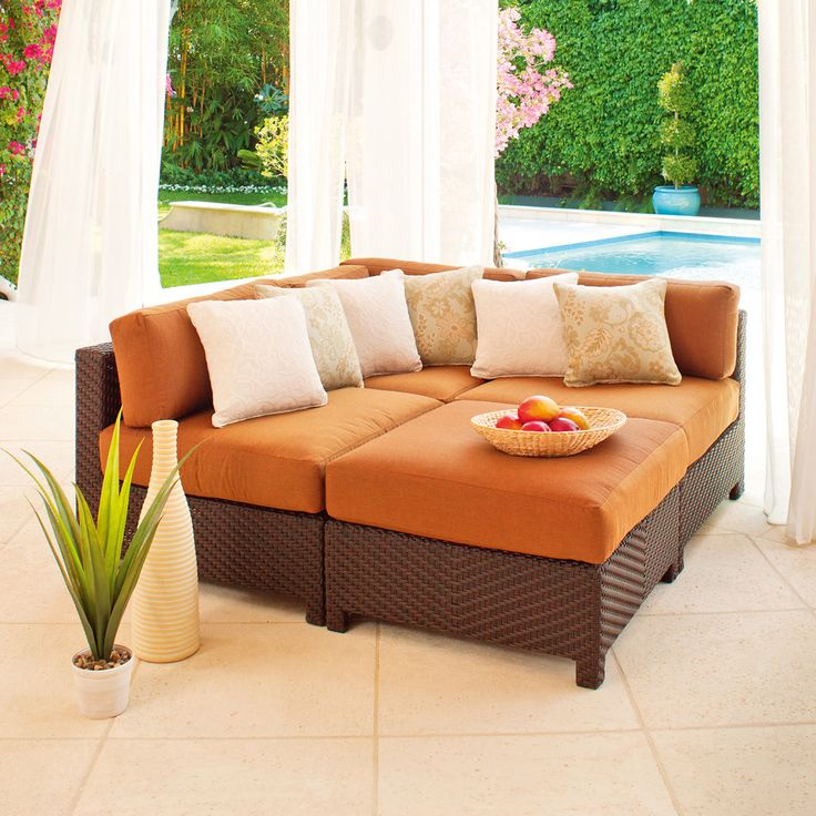 Best Outdoor Wicker Patio Sectionals Images On