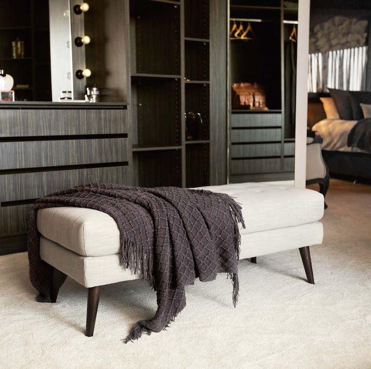 Suzi and Vonni Room 3 | Master Bed & WIR #theblock #theblockshop #wardrobegoals