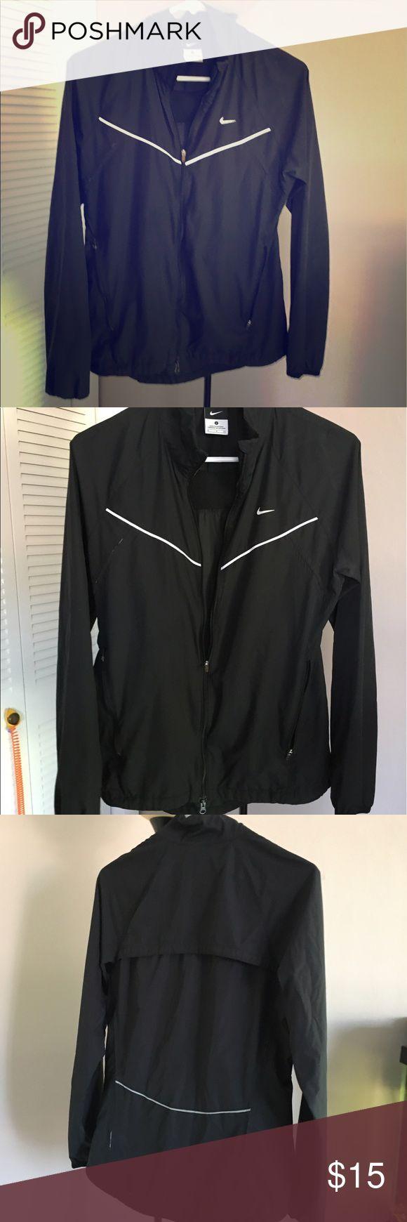Nike black windbreaker Nike black windbreaker, very light and thin fabric Nike Jackets & Coats Utility Jackets