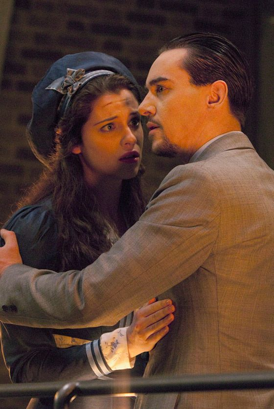 Jonathan Rhys Meyers and Jessica De Gouw in Episode 10 finale of Dracula 'Let There Be Light' - sky.com/dracula